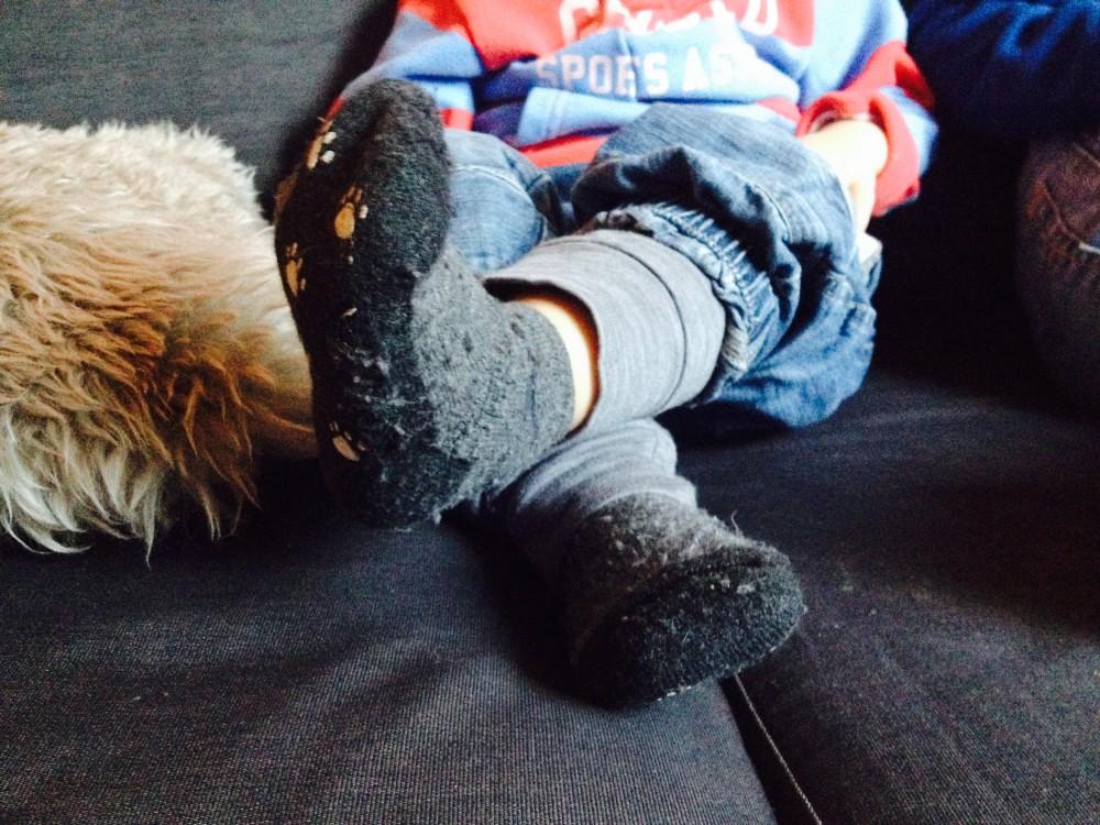 En haug med sokker